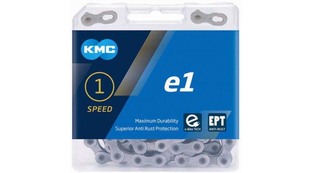 """KMC e1 Kette 1/2""""x3/32"""" 110-Glieder EPT silver"""