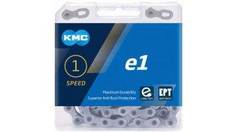 KMC e1 Kette 1-fach 110-Glieder EPT silver