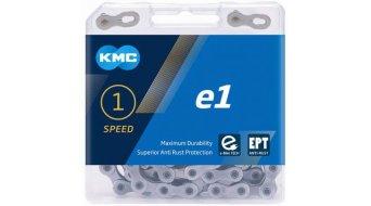 """KMC e1 Kette 1/2""""x3/32"""" 130-Glieder EPT silver"""