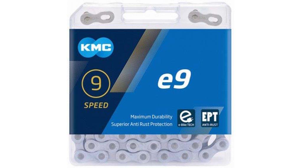KMC e9 Kette 9-fach 136-Glieder EPT silver