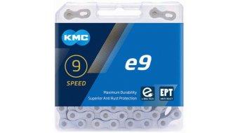 KMC e9 chaîne 9-vitesses 136-maillon_EPT_argent