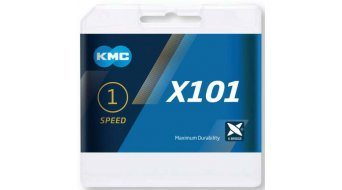 "KMC X101 chain 1/2x1/8"" 112- link"