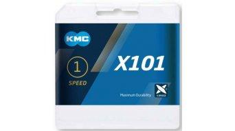KMC X101 ketting 1-traps (-speed)
