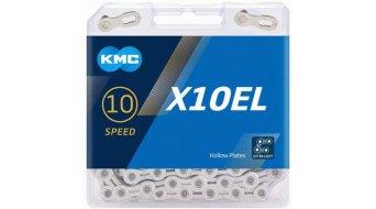 KMC X10 EL Kette 10-fach 114-Glieder silver