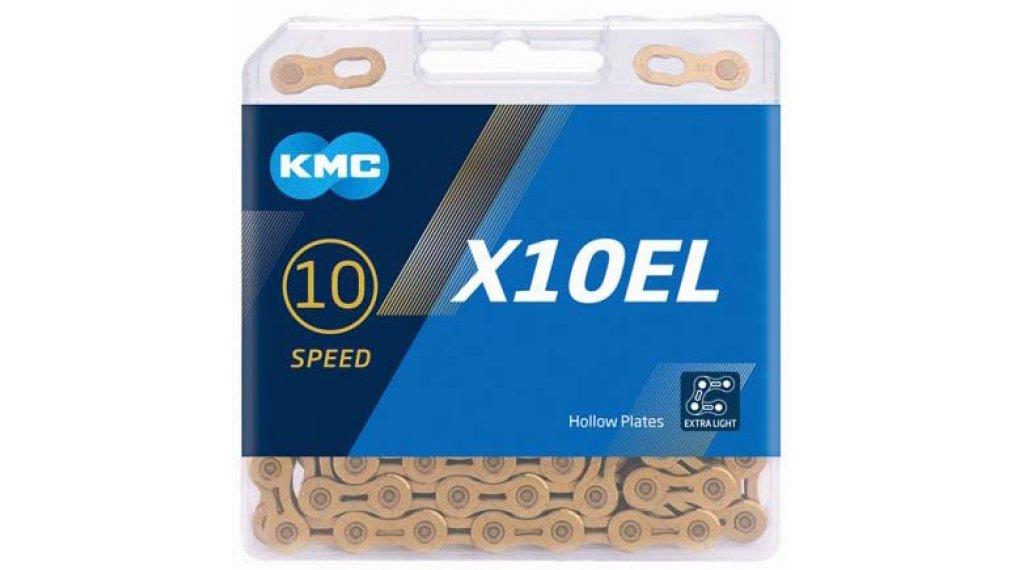 KMC X10 EL Kette 10-fach 114-Glieder Ti-N gold
