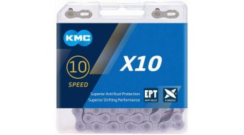 KMC X10 Kette 10-fach 114-Glieder EPT silver