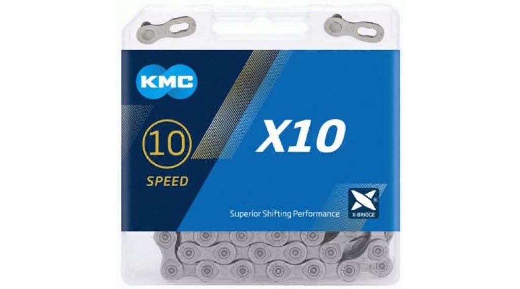 KMC X10 Kette 10-fach 114-Glieder grey