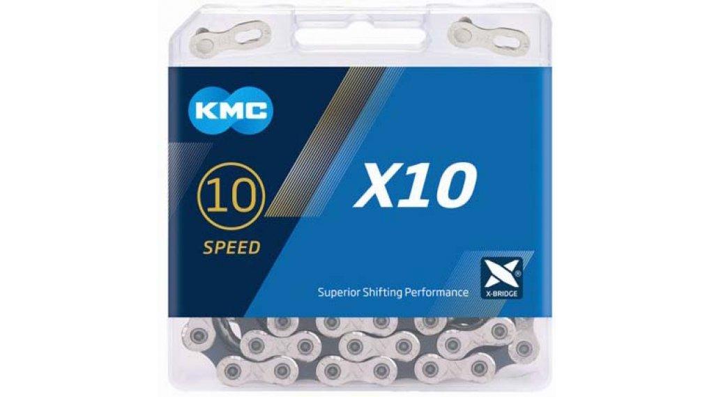 KMC X10 Kette 10-fach 114-Glieder silver/black