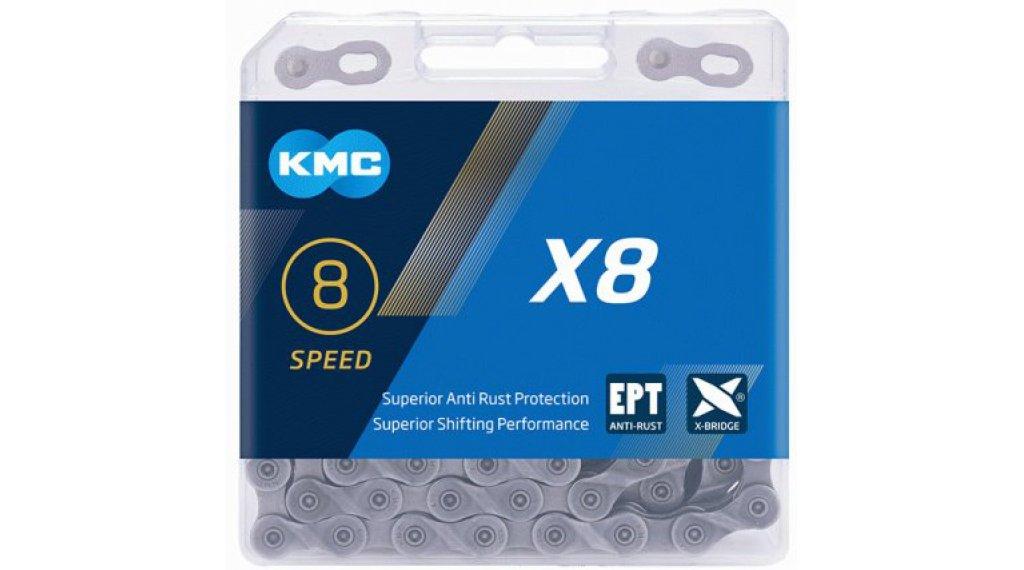 KMC X8 Kette 8-fach 114-Glieder EPT silver