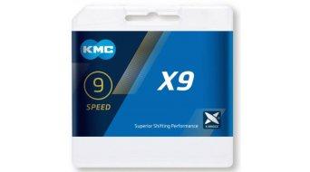 KMC X9 Kette 9-fach 114-Glieder Ti-N gold