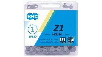 """KMC Z1 Kette 1/2x1/8"""" 128-Glieder EPT silver"""
