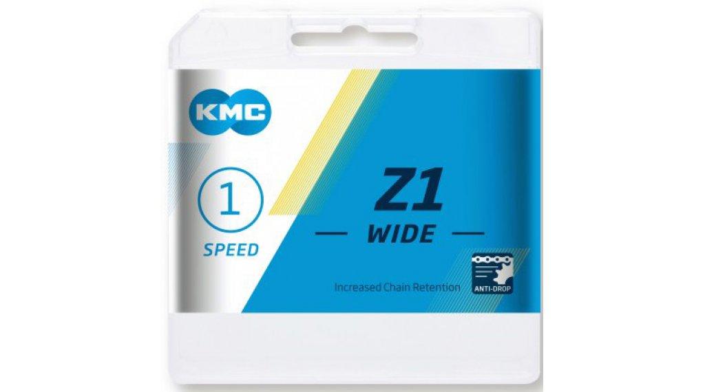 """KMC Z1 Kette 1/2x1/8"""" 112-Glieder silver"""