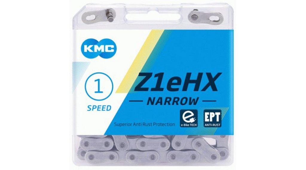 "KMC Z1eHX Kette 1/2""x3/32"" 128-Glieder EPT silver"