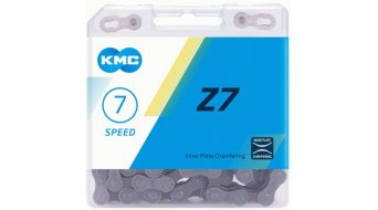 KMC Z7 chain 7 speed 114- link grey/brown