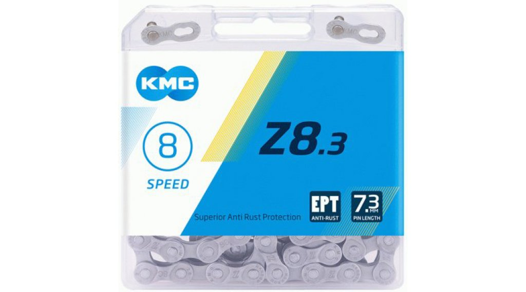 KMC Z8.3 Kette 8-fach 114-Glieder EPT silver