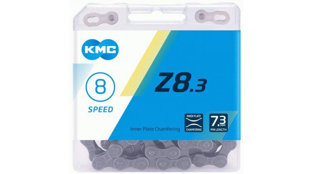 KMC Z8.3 Kette 8-fach 114-Glieder silver/grey