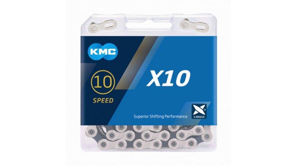 KMC X10 Kette 10-fach 122-Glieder silver/black