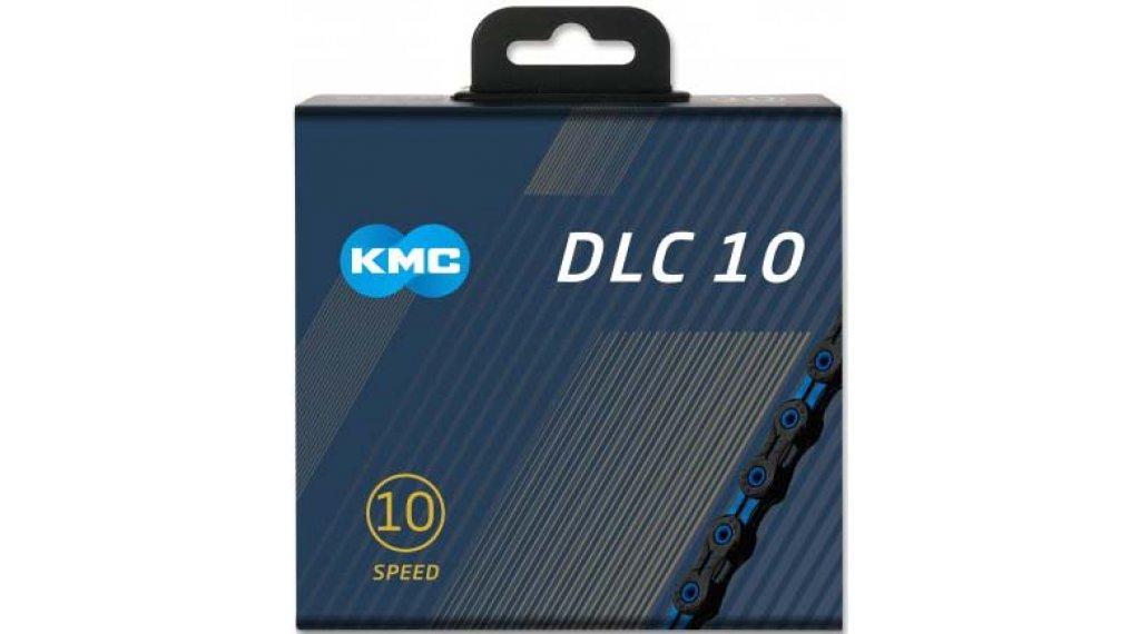 KMC DLC10 Kette 10-fach 116-Glieder black/blue
