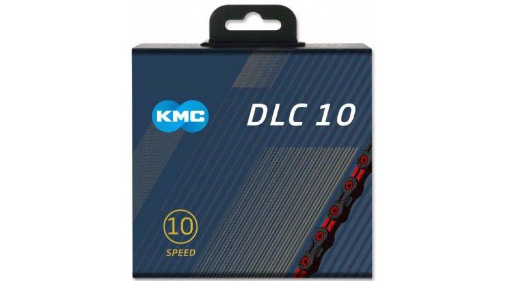 KMC DLC10 Kette 10-fach 116-Glieder black/red