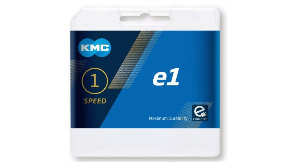 """KMC e1 Kette 1/2""""x3/32"""" 110-Glieder silver"""