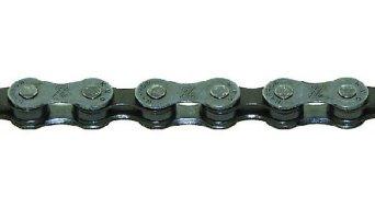 KMC Z7 chain bicycle chain 7 speed 116- link grey- brown (vormals Z-50)