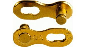 KMC Kettenschloss MissingLink 9-fach Re-Usable Ti-N gold