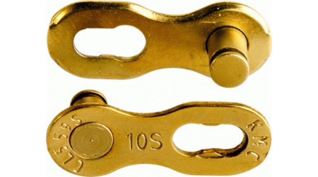 KMC Kettenschloss MissingLink 10-fach Re-Usable Ti-N gold