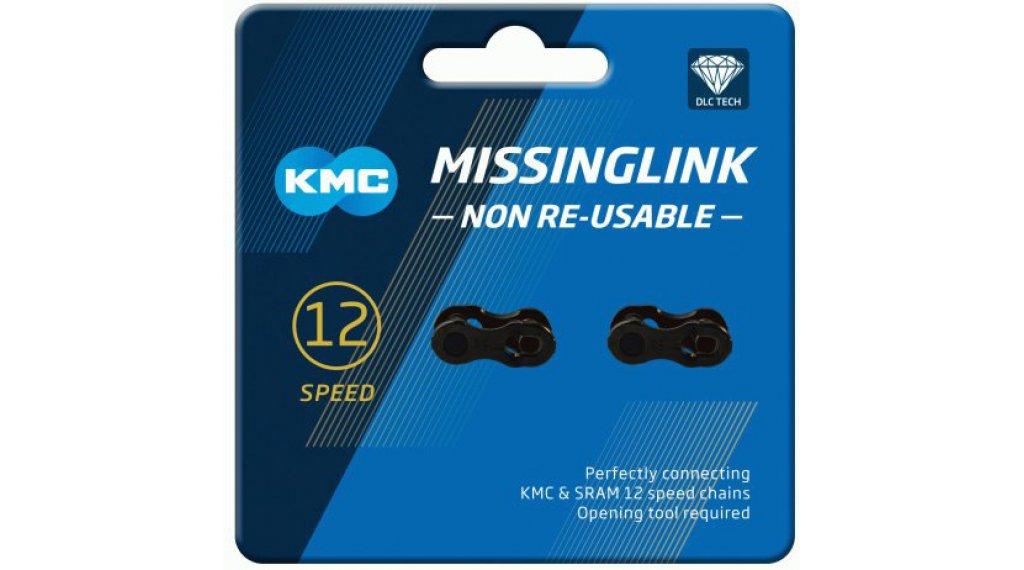 KMC Kettenschloss MissingLink 12-fach Non-Re-Usable DLC black