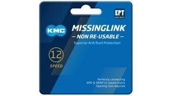 KMC Kettenschloss MissingLink 12-fach Non-Re-Usable EPT silver