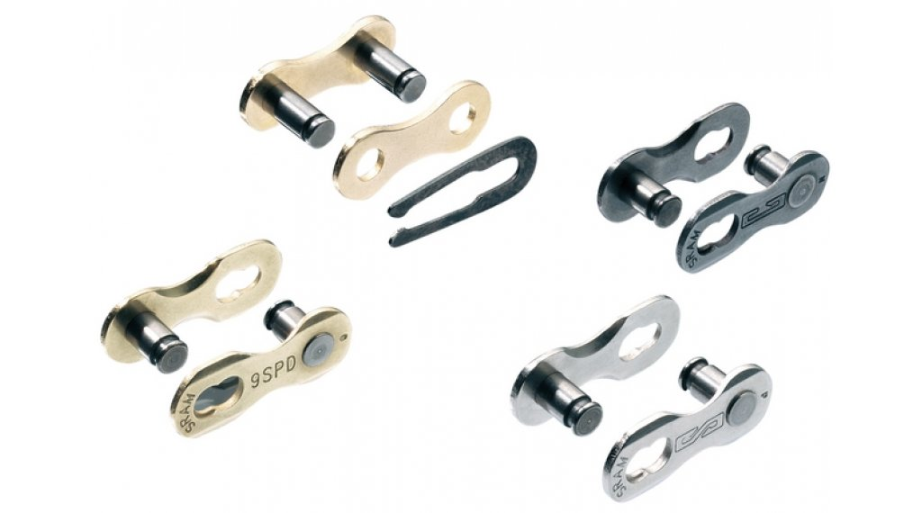 SRAM PowerLink chain lock chain lock for all SRAM 8 speed- chain silver 1-er-Pack