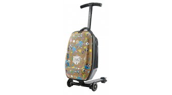 Micro Luggage II box & Kickboard Steve Aoki Sound2go-Edition