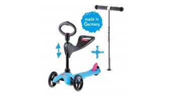 Micro Mini Micro 3in1 Scooter (incl. . Sitz e manubrio a O )