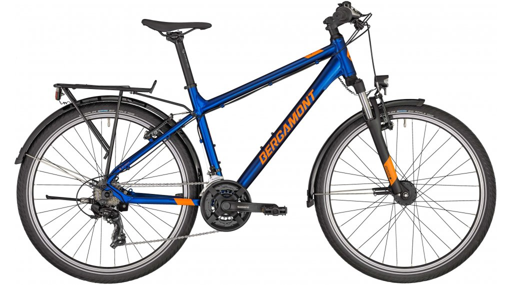 "Bergamont Revox ATB 26 Gent 26"" Komplettrad Kinder Gr. 38cm atlantic blue/orange (shiny) Mod. 2020"