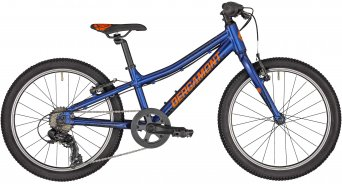 "Bergamont Bergamonster 20 Boy 20"" Kinderkomplettrad Gr. 26 cm atlantic blue/black/orange (shiny) Mod. 2020"