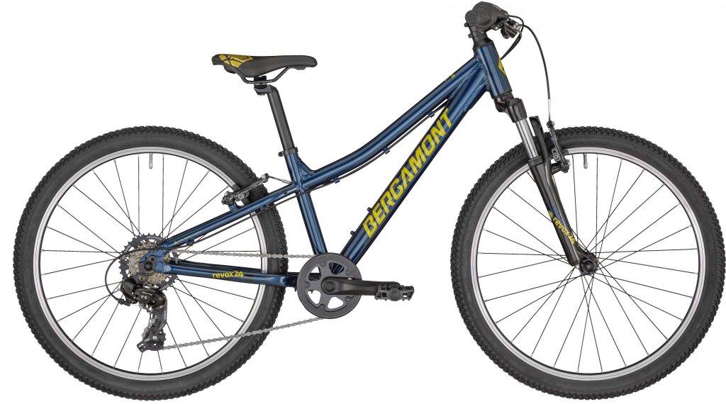 "Bergamont Revox 24 Boy 24"" Komplettrad Kinder Gr. 31cm petrol blue/gold (shiny) Mod. 2020"