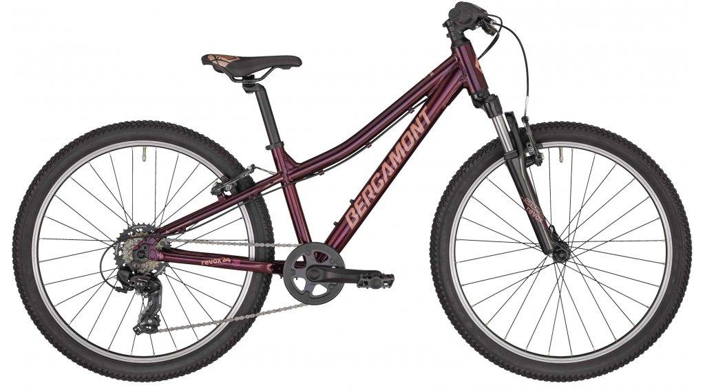 "Bergamont Revox 24 Girl 24"" Komplettrad Kinder Gr. 31cm burgundy red/rosé (shiny) Mod. 2020"
