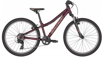 "Bergamont Revox 24 Girl 24"" kind (kinderen)komplettrad maat 31 cm burgundy red/rosé (shiny) model 2020"