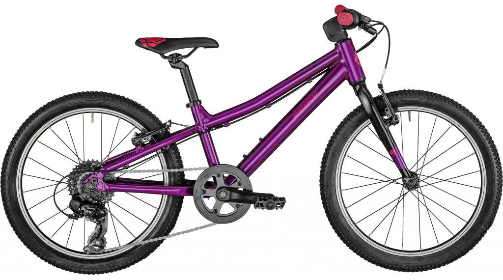 Bergamont Bergamonster Girl 20 MTB(山地) 整车 儿童 型号 26厘米 紫红色/black/red 款型 2021