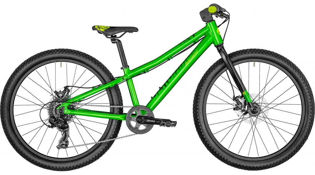 Bergamont Revox Lite Boy 24 MTB(山地) 整车 儿童 型号 31厘米 green/black/青柠色 yellow 款型 2021