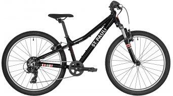 Bergamont Revox St. Pauli kiadás 24 MTB komplett kerékpár gyermek Méret 31cm black/white/red 2021 Modell