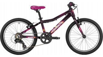 Bergamont Bergamonster 20 Girl 20 kinderen bike Jungen-fiets (of wiel) Gr. 28cm grape (shiny) model 2017