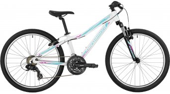 Bergamont Vitox 24 Girl 24 kinderen bike Jungen-fiets (of wiel) Gr. 32cm white/coral blue/magenta (shiny) model 2017