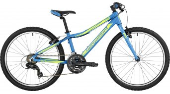 Bergamont Vitox 24 light 24 kinderen bike Jungen-fiets (of wiel) Gr. 32cm cyan/neon yellow (mat) model 2017