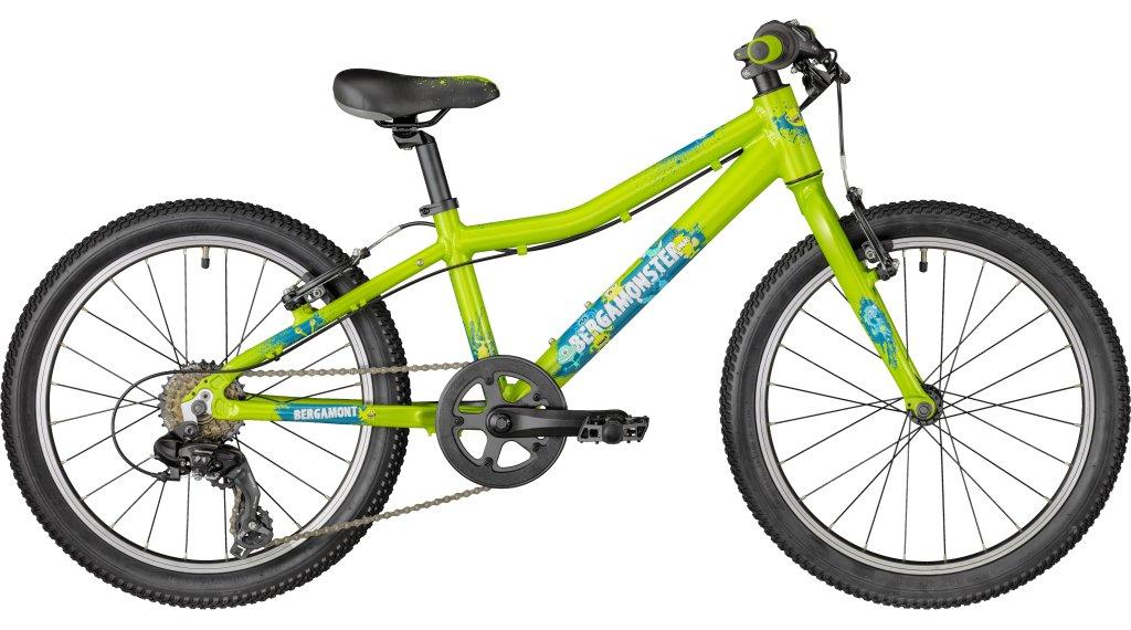 """Bergamont Bergamonster Boy 20"""" dětské jízdní kolo velikost 28cm green/petrol/white (shiny) model 2018"""