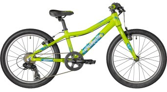 "Bergamont Bergamonster Boy 20"" kind (kinderen) bike Gr. 28cm green/petrol/white (shiny) model 2018"