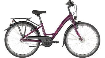 """Bergamont Belamini N3 24 24"""" Kinder Komplettbike Gr. 32cm violet/pink/red (shiny) Mod. 2018"""