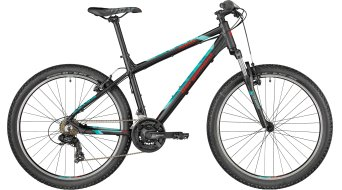 "Bergamont Revox 26 26"" kids bike black/turquoise/red (matt) 2018"
