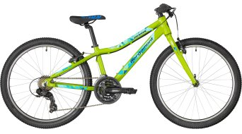 "Bergamont Revox 24 lite Boy 24"" kids bike size 32cm green/blue/black (shiny) 2018"