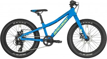 "Bergamont Bergamonster 20 Plus 20"" kids bike size 26 cm cyan blue/neon yellow (matt) 2019"