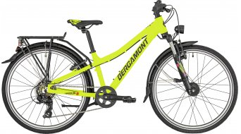 "Bergamont Revox ATB 24 Boy 24"" Kinder Komplettbike Gr. 31 cm lime green/black/red (matt) Mod. 2019"